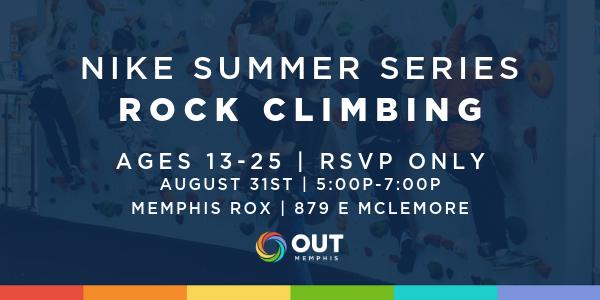 Nike Summer Series: Rock Climbing (8/31)