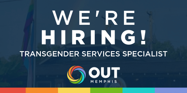 Now Hiring: Transgender Services Specialist
