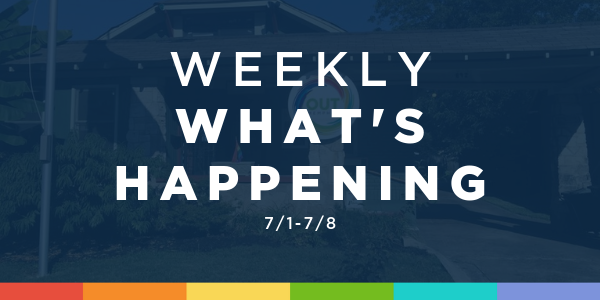 Weekly What's Happening at OUTMemphis (7/1-7/8)