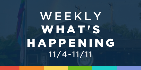 Weekly What's Happening at OUTMemphis (11/4-11/11)