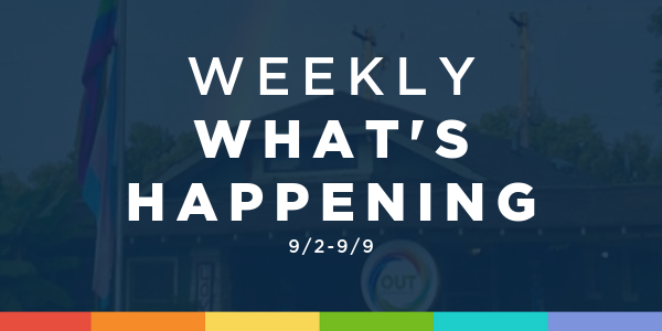 Weekly What's Happening at OUTMemphis (9/2-9/9)