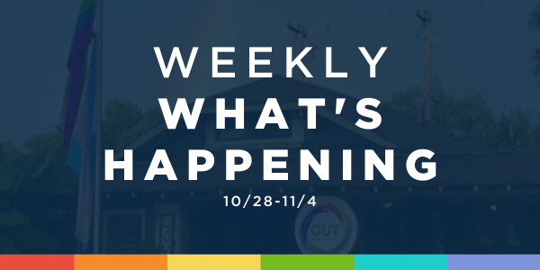 Weekly What's Happening at OUTMemphis (10/28-11/4)