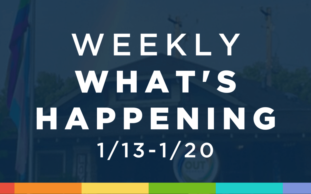 Weekly What's Happening at OUTMemphis (1/13-1/20)